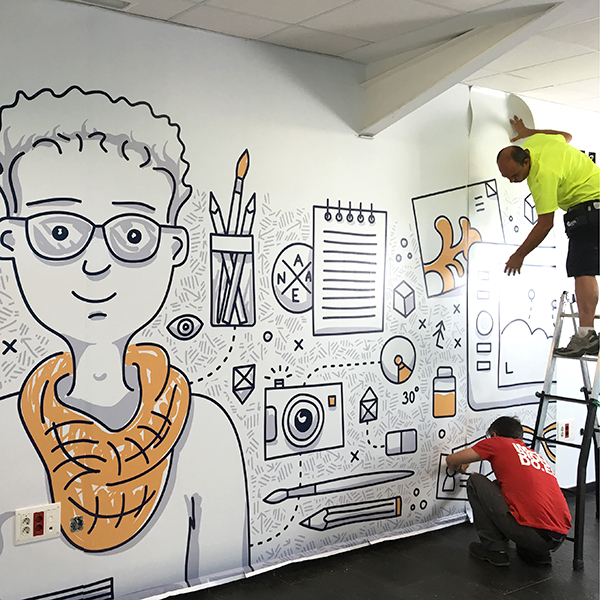 Mural Pared